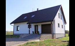 Výstavba energeticky úsporných rodinných domů, HOMESTEAD s.r.o. Hamry nad Sázavou