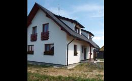 Výstavba nízkoenergetických rodinných domů na klíč, Vysočina