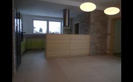 Vybudování interiérů energeticky úsporných rodinných domů, Vysočina