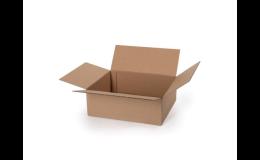 Pevné klopové krabice z třívrstvé a pětivrstvé lepenky