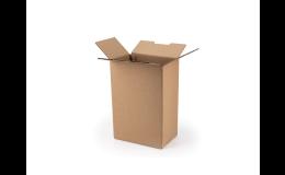 Přepravní kartonové kontejnery pro přepravu těžších předmětů