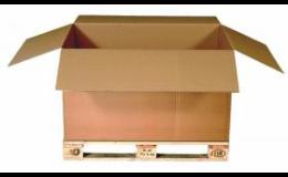 Šatní boxy z lepenky pro praktické stěhování oblečení