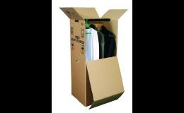 Papírové krabice na potraviny, cukroví, dorty i výslužky