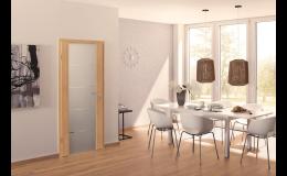 Interiérové dveře Hörmann bukové či bíle lakované