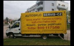AUTOSKLO SERVIS CZ Praha, smluvní partner pojišťoven