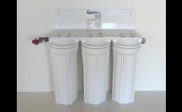 Filtry a filtrační zařízení pro odstranění kalu, rzi, písku a mechanických nečistot