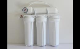 Reverzní osmóza využitá k výrobě demineralizované vody