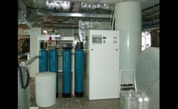 V případě poruchy mají úpravny vody zabezpečený přechod do náhradního režimu