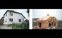 Stavbu rodinných domů na klíč i rekonstrukce realizuje společnost Stavitelství Kudláč