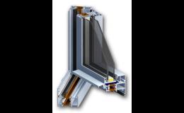 Různé typy hliníkových profilů v RAL odstínech, EVOokna Znojemsko