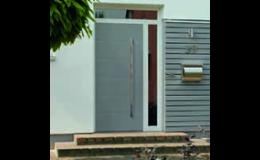 Vchodové hliníkové dveře s bezpečnostními prvky, EVOokna Tomáš Makeš