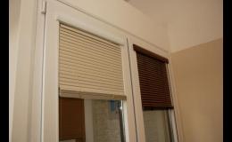 Horizontální interiérové žaluzie - EVOokna Tomáš Makeš, okres Znojmo