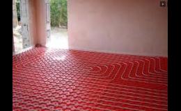 Dodání, montáž, servis podlahového vytápění - Zlínský kraj