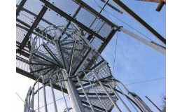 Výroba schodišťových stupňů s protiskluzovou úpravou - Ferrum s.r.o.