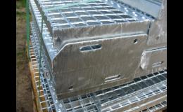 Ocelové podlahové rošty podle požadavků zákazníka - Ferrum s.r.o.