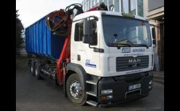 Výkup a odvoz kovošrotu vlastní autodopravou, Ferrum s.r.o., Moravské Budějovice