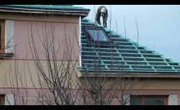 Výrobu a renovaci krovů, dřevěné a střešní konstrukce zrealizuje společnost BAUFIRMA MPR s.r.o.
