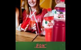 Společnost ZON, spol. s r.o. z Třebíče vyrábí limonády Zon v PET 2l balení