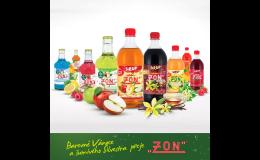 Ochutnejte lahodné sirupy od společnosti ZON, spol. s r.o. vyrobené bez konzervantů, sladidel a syntetických barviv