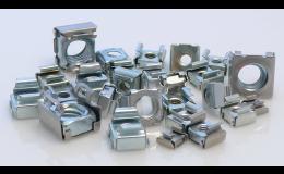 Matice v kleci z oceli či nerezové oceli, rychlá montáž i demontáž, SIMAF CZ s.r.o., Brno