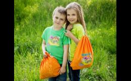 Třídní předměty a oblečení pro školy a školky potiskuje společnost Reklamní potisk, s.r.o.