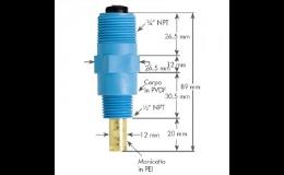 EC sonda s automatickou teplotní kompenzací s DIN konektorem