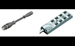 Konektory s kabelem i bez kabelu, axiální či radiální, Teprostroj s.r.o., Břeclav