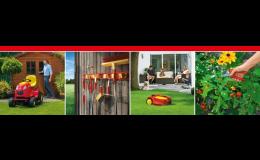 Zahradní technika a nářadí v e-shopu AGS Ing. Beneš
