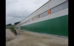 Výstavba nových i repasovaných montovaných hal