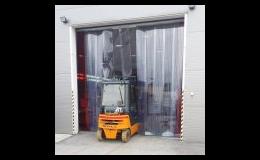 PVC lamelové clony do průmyslových vrat - PortaTherm s.r.o., Brno