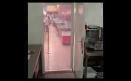 Výroba a dodání kyvných dveří - PortaTherm s.r.o., Brno