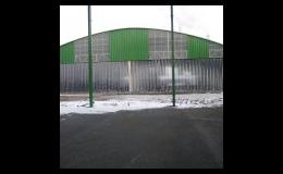 PVC panely a plastové závěsy či pásy do skladů, výrobních hal, pavilonů