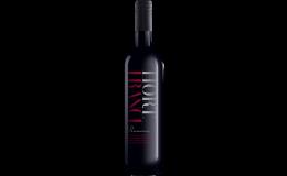 Tři řady červených vín Hort France - Nature, Selection, Premium