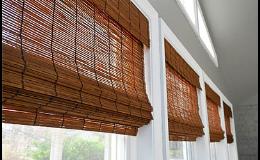 Bambusové roletky - přírodní ochrana proti slunci, Vysočina