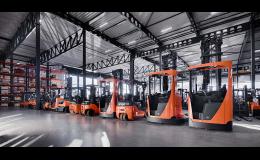 Toyota Material Handling CZ prodává plně funkční použité manipulační vozíky