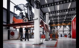 Servis manipulačních vozíků a školení řidičů - Toyota Material Handling CZ