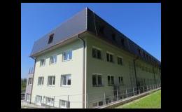 Pokrývačské práce provádí řemeslná firma KROVYS s.r.o. z Telče
