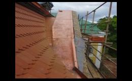 Oplechování střech, střešních prvků, komínů, montáž okapů