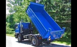 Sklápěčové korby pro 2osý až 4osý podvozek nákladního vozidla - Porgest a.s.