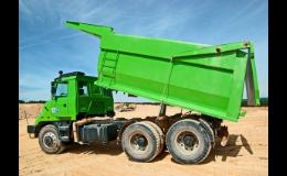 Sklápěčové korby na všechny typy nákladních vozidel - Porgest a.s. Nový Jičín