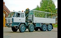 Valníkové nástavby na zakázku v civilním i vojenském provedení