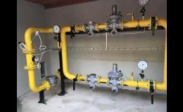 Rekonstrukce, opravy, servis plynových zařízení a regulačních stanic