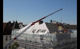 Rekonstrukce a zateplení střech a fasád budov nabízí stavební firma EKOČEK
