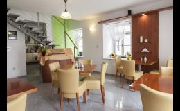 Komfortní ubytování se snídaní v centru Znojma