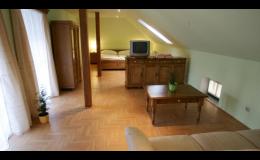 Komfortní ubytování ve stylově zařízeném penzionu Rezidence ZVON Znojmo