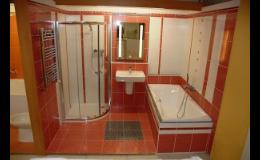 Rekonstrukce původní koupelny, výběr koupelnové sanity a doplňků