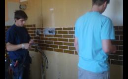Profesionální vodoinstalatérské práce kvalitně a rychle