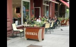 Reprezentativní květinová dekorace v centru měst a obcí - FLORAVIL