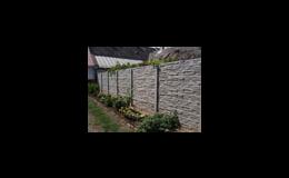 Firma Betonové ploty Harašta z Pohořelic u Brna vyrábí betonové ploty, dílce