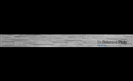 Betonové podhrabové desky jako základ betonových plotů